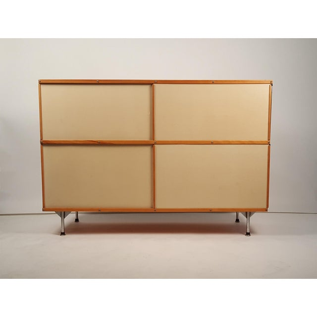 Mid-Century Modern Early ESU 200 Storage Unit by Charles & Ray Eames for Herman MIller For Sale - Image 3 of 11