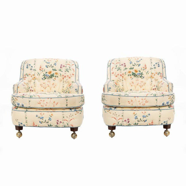 Edward Wormley Pair of Chairs For Sale - Image 10 of 10