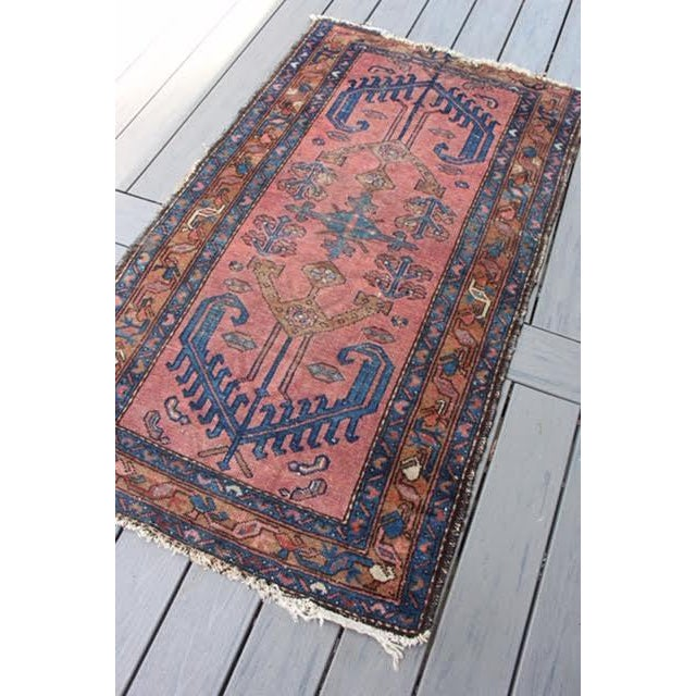"Antique Persian Balouch Rug - 2'10"" x 5' - Image 3 of 8"