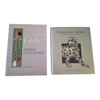 Cartier Jewelry Books - Set of 3 For Sale