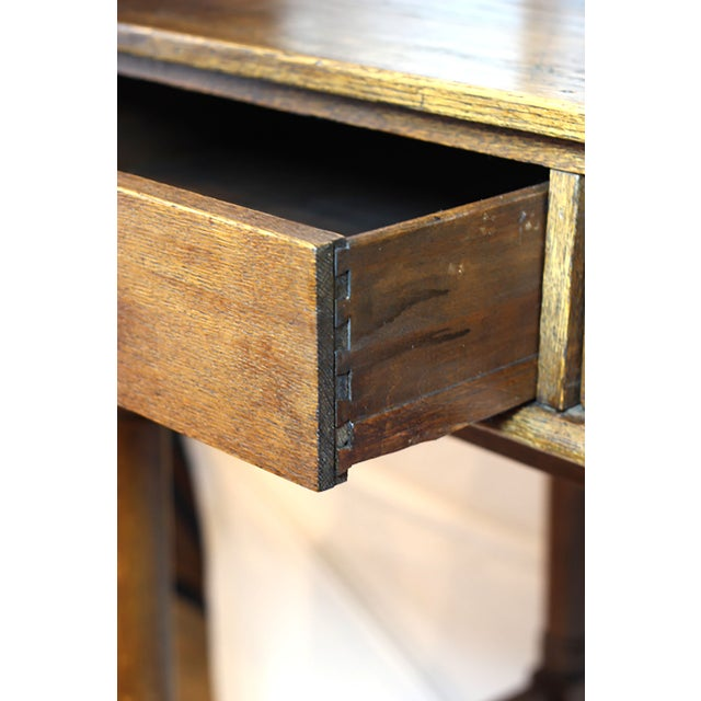 Early 20th Century Monumental Standing Desk - Image 4 of 10