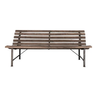 1940s French Park Bench For Sale