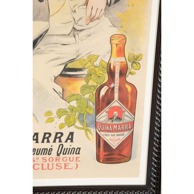 """Paper Gorgeous Belle Époque Poster by Francisco Tamagno """"Demandez Un Marra"""" For Sale - Image 7 of 9"""