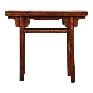 18th C Small Chinese Altar Table From Hebei For Sale
