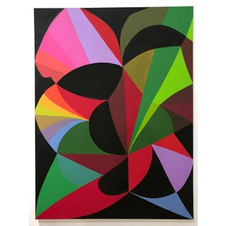 """""""Open Source"""" Abstract Colorful Painting by Andrea Ferrigno For Sale"""