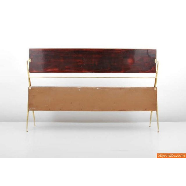 Glass 1955 Italian Silvio Cavatorta Cabinet For Sale - Image 7 of 8