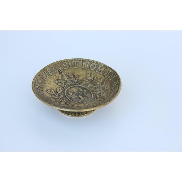 Louis XVI Bronze Pedestal Dish - Image 5 of 6