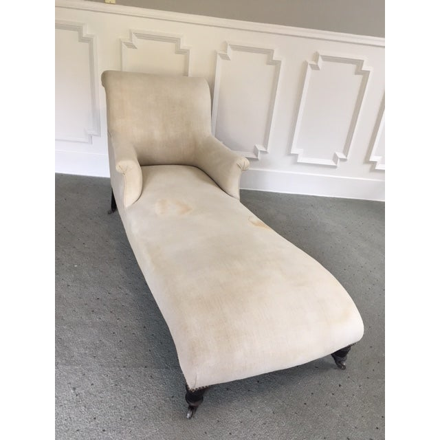 19th Century Napoleon III French Chaise For Sale - Image 10 of 10