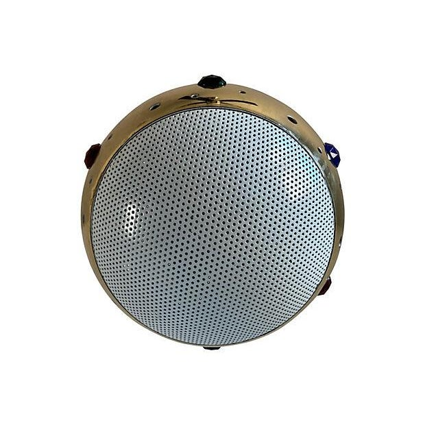 1960s Modern Perforated Flush Light For Sale In Austin - Image 6 of 11