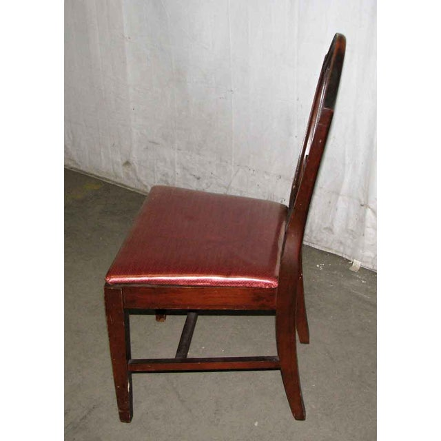 Classic Mahogany Dining Chairs - Set of 6 For Sale - Image 9 of 12