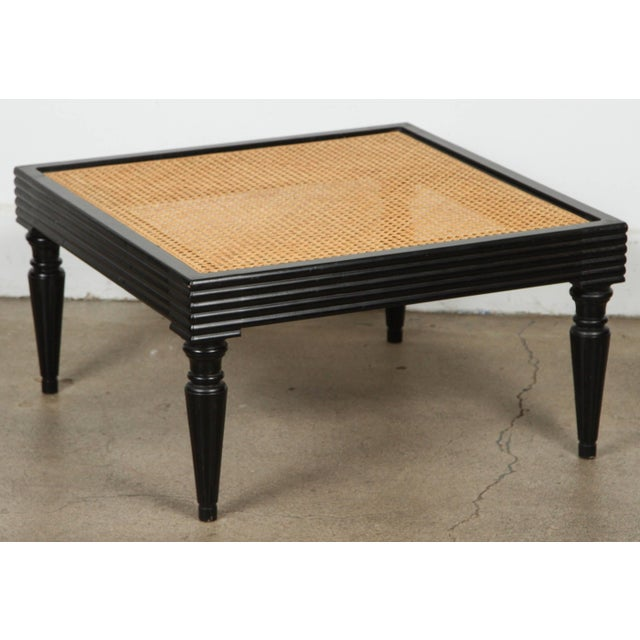 Anglo-Indian Ebonized Ottoman or Side Table For Sale - Image 13 of 13