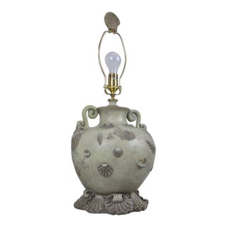 Wildwood Lamps & Accents Sea Shells Ewhere Lamp For Sale