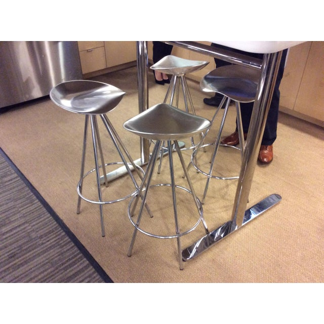 Mid-Century Modern Knoll Jamaica Counter Stools by Pepe Cortes - Set of 4 For Sale - Image 3 of 6