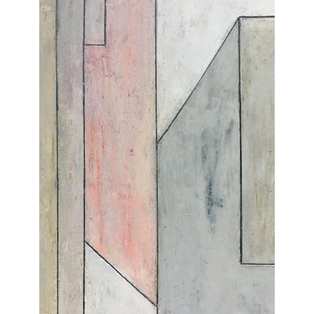 Abstract Geometric Vertical Study by Stephen Cimini For Sale - Image 4 of 7