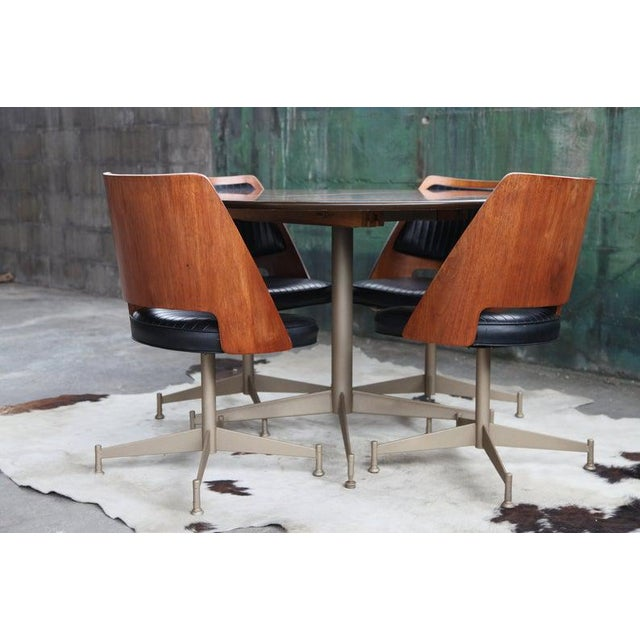 "1960s Mid Century ""Orange Slice"" Dining Set - 5 Pieces For Sale - Image 11 of 11"