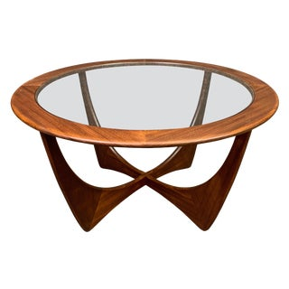 "Vintage Mid Century Modern G Plan Teak ""Astro"" Coffee Table For Sale"