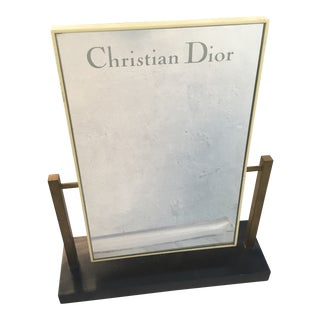 1970s Vintage Christian Dior Mirror For Sale