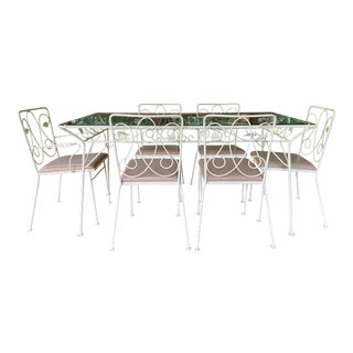 Mid-Century Salterini Dining Set - 7 Pieces For Sale
