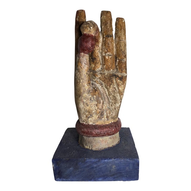 Chinese Wood Buddha Hand Carving For Sale