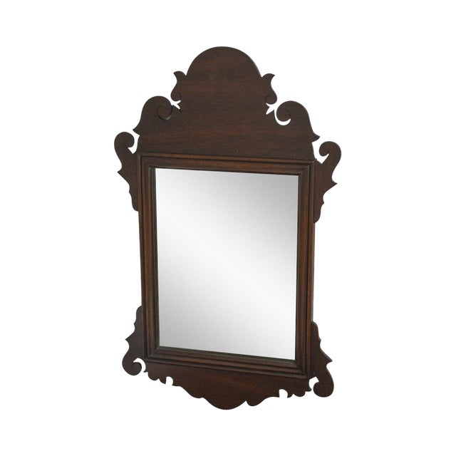Chippendale Style Small Mirror Antiques Mirrors