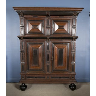 Large Late 17th Century Oak Dutch Kast or Armoire Preview