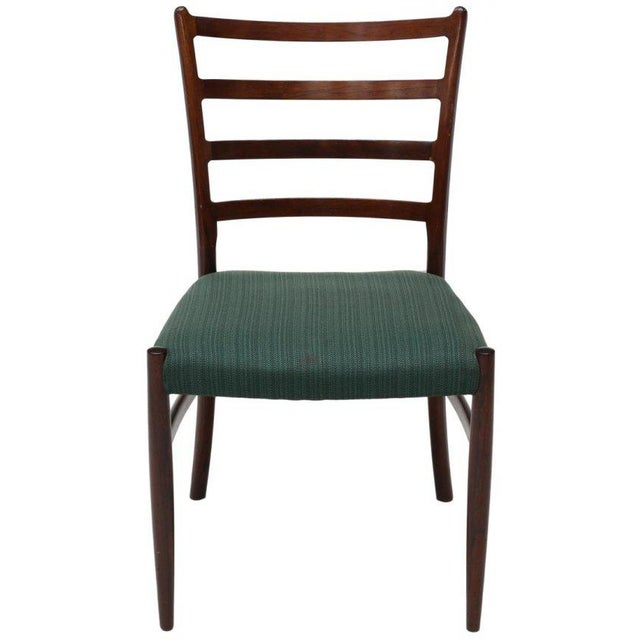 Danish Mid-Century Modern Rosewood Dining Chairs - Set of 6 - Image 2 of 3