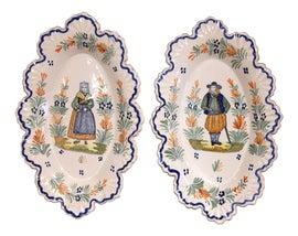 Image of Figurative Decorative Plates