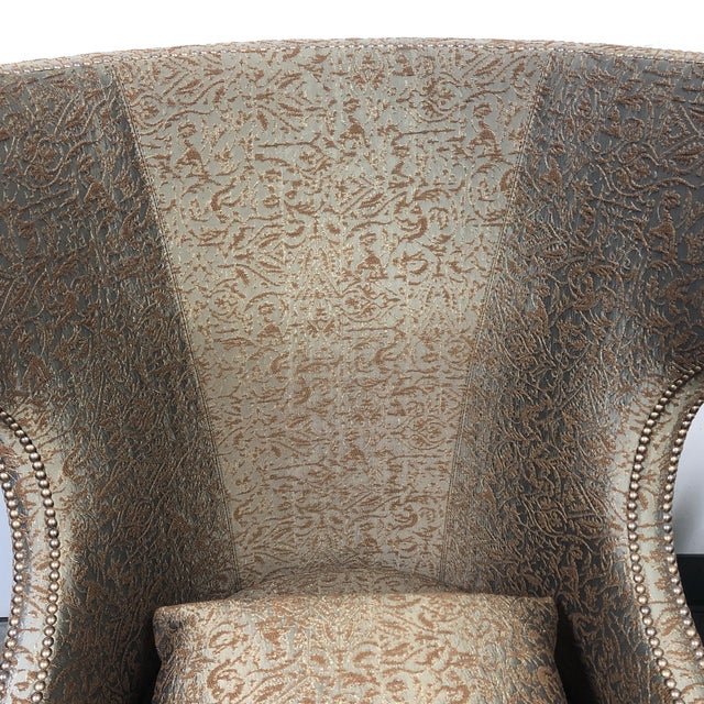 Ironies Tule Lounge Chairs- a Pair For Sale - Image 10 of 13