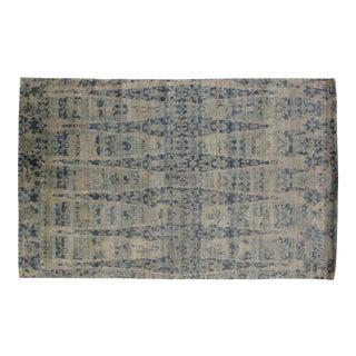 Leon Banilivi Royal Blue Agra Carpet - 5′7″ × 9′