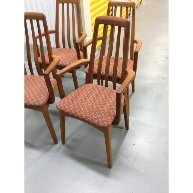 1960 S Mid Century Modern Benny Linden Teak Dining Chairs Set Of 4