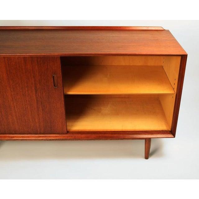Sibast Møbler Arne Vodder Danish Modern Teak Cabinet for Sibast For Sale - Image 4 of 7