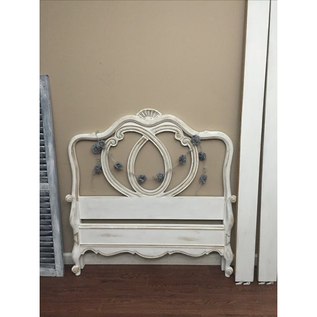Vintage French Provincial Twin Size Bed - Image 7 of 7