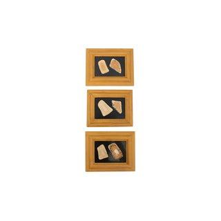 Set of Three Italian Pietra Dura For Sale
