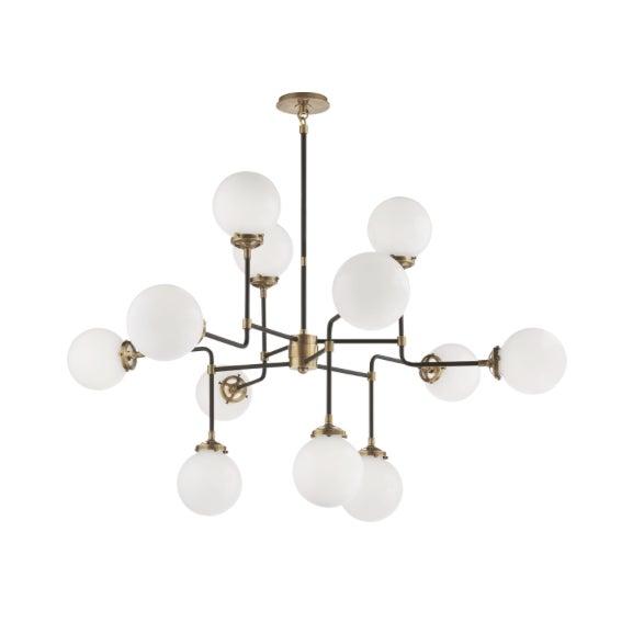 Visual Comfort Ian K. Fowler Bistro Medium Chandelier Light For Sale - Image 9 of 9