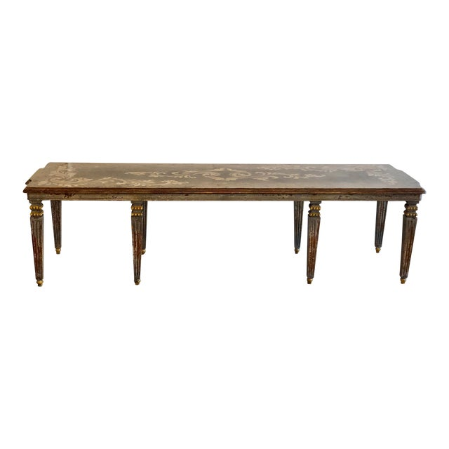 Hand Painted Dining Table - Image 1 of 6