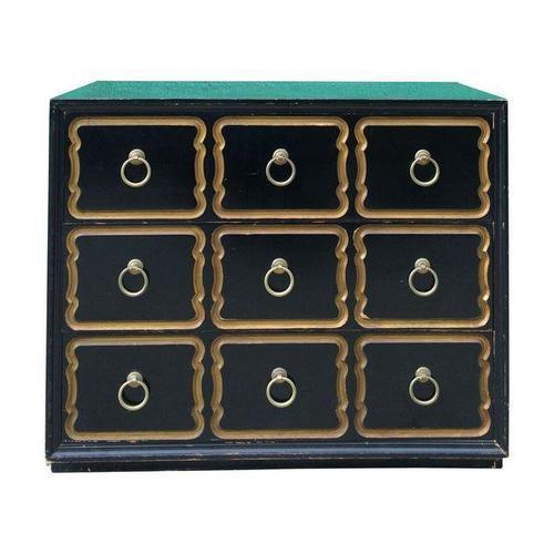 Black Original Dorothy Draper Chest for Heritage For Sale - Image 8 of 8