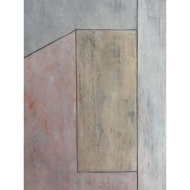 "Canvas Stephen Cimini ""Onyx Meets Selenite"" Oil on Canvas Artwork For Sale - Image 7 of 7"