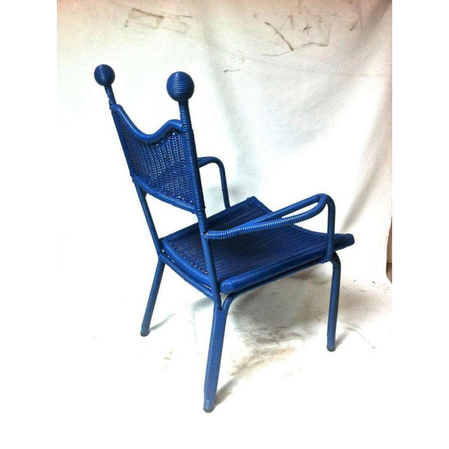 Jean Royere Unique, Documented Personal Armchair From His House in Brittany For Sale - Image 6 of 7