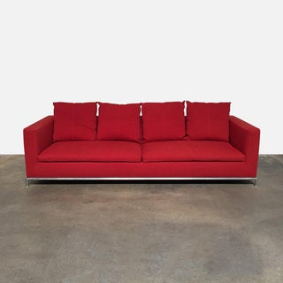 Modern Red George Sofa Preview