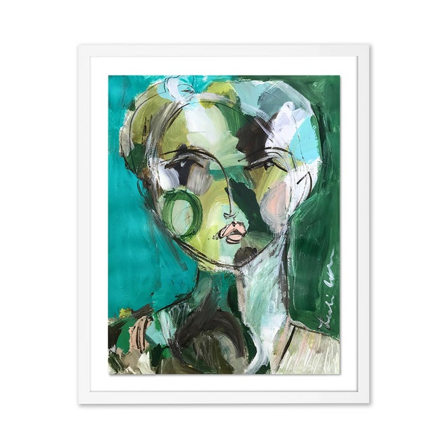 Contemporary Contemporary Portraiture Gallery Wall - Set of 4 For Sale - Image 3 of 7