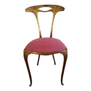 Italian Chiavari Art Nouveau Chair