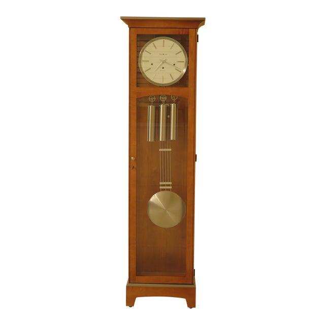 Howard Miller Modern Design Cherry Grandfather Clock