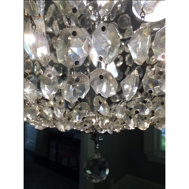 1900s Empire Crystal Chandelier - Image 10 of 11