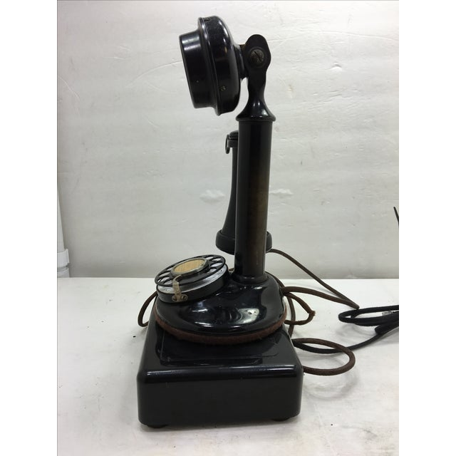 Western Electric Candlestick Rotary Dial Telephone - Image 8 of 11