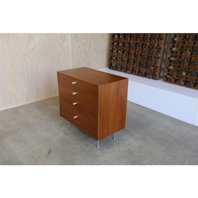 Mid-Century Modern Mid-Century Modern George Nelson for Herman Miller Teak Thin Edge Chest of Drawers For Sale - Image 3 of 12