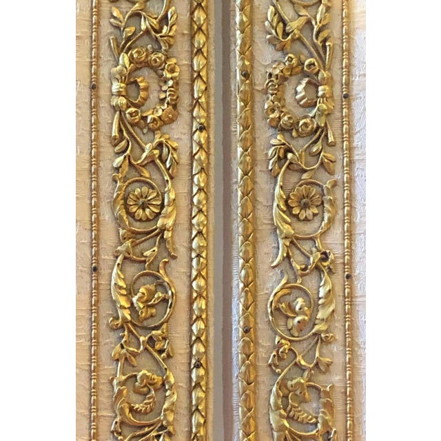 Fine Gilt Bronze and Fabric Fold Desk Blotter Possibly J Caldwell - a Pair For Sale - Image 11 of 13