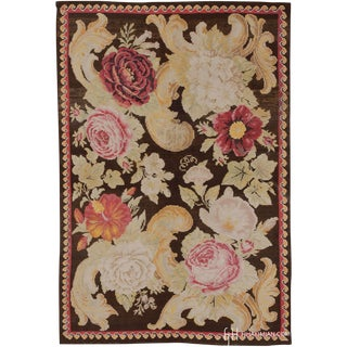 Late 19th Century Russian Bessarabian Rug- 4′ × 6′9″ For Sale