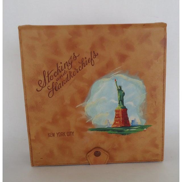 Vintage Leather New York Souvenir Box - Image 2 of 8