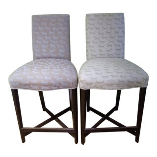 1990s Vintage Donghia Studio-X Counter Stools- a Pair For Sale