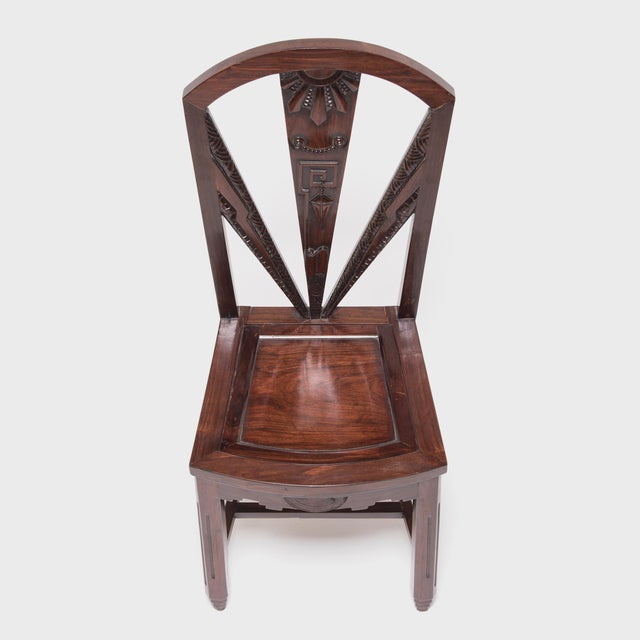 This beautiful blackwood (hongmu) chair was crafted a century ago in Shanghai, a bustling port city that was at the...